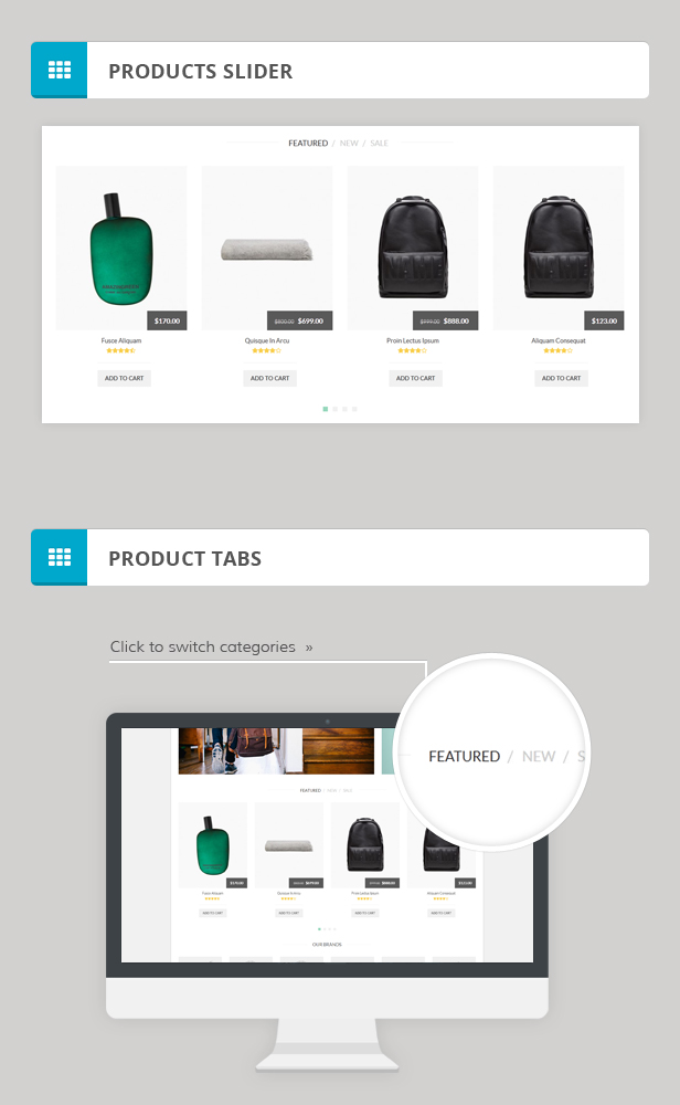 MA Accessories Responsive Magento Theme