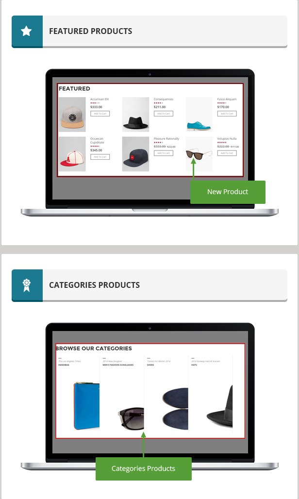 Elegan - Fashion Responsive Magento Theme