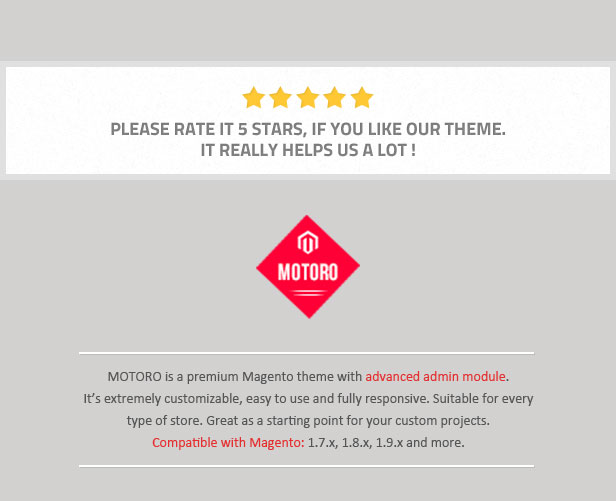 MOTORO - Digital Responsive Magento Theme