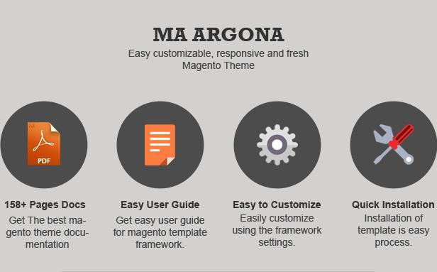 MA ARGONA - Responsive Magento Theme