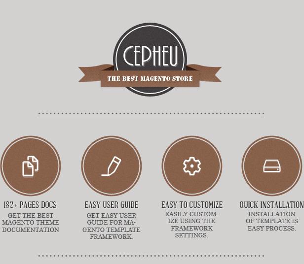 Cepheu - Responsive Magento Theme