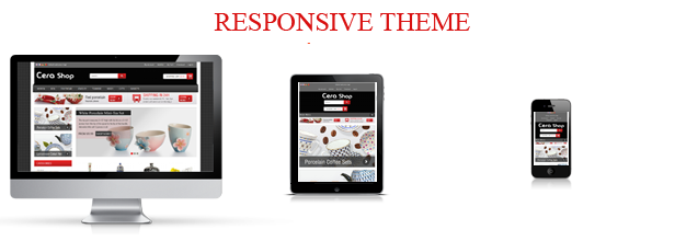 CeraShop Responsive Magento Theme