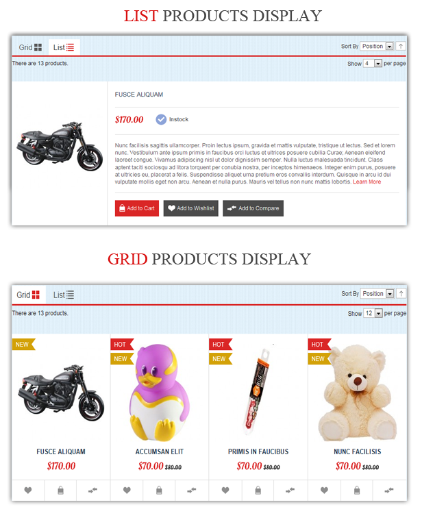 Doll Store Responsive Magento Theme