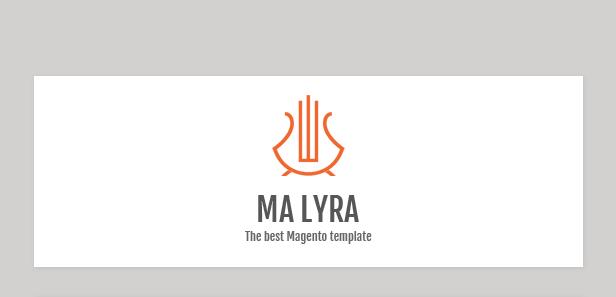 Lyra - Responsive Magento Theme