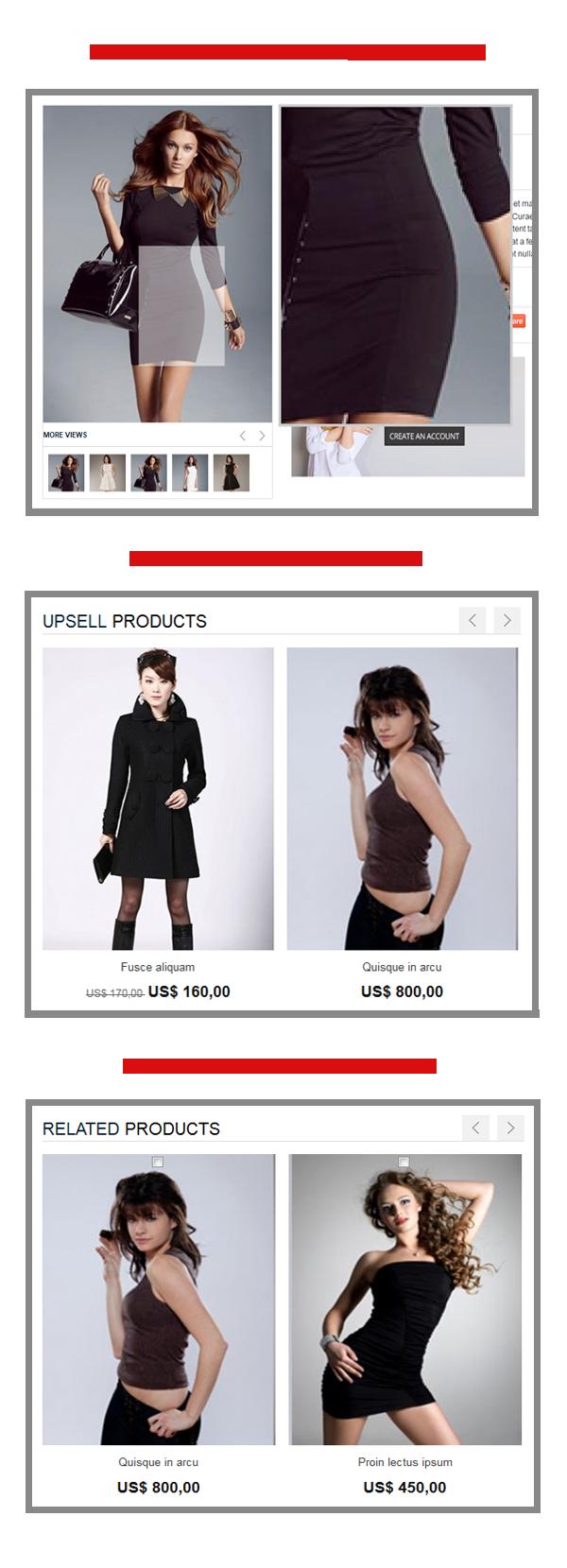 Women Store - Responsive Magento Theme