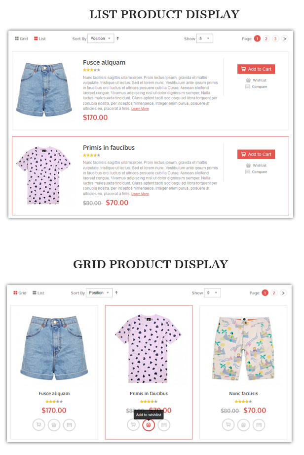 grid list - Alexis - Fashion Responsive Magento Theme