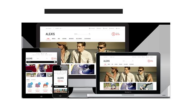 responsive - Alexis - Fashion Responsive Magento Theme