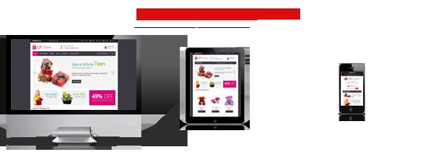 responsive - Gift Store Responsive Magento Theme